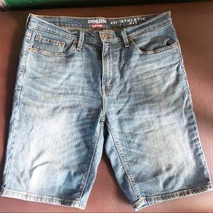 Denizen Levi's 231 athletic fit shorts size 34